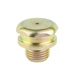 "STRAIGHT BUTTON HEAD NIPPLE (1/4"" - 18 NPT) (50 PACK)"