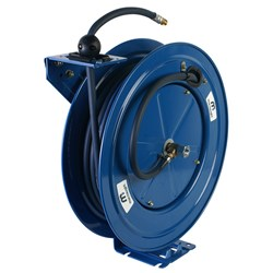 SINGLE PEDESTAL AIR/WATER REEL 9mm x 20m