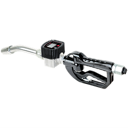 HIGH FLOW DIGITAL OIL GUN W/ RIGID EXT AUTO NOZZLE