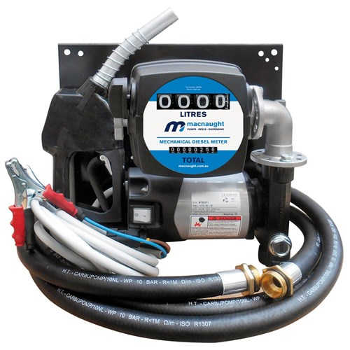 12V WALL MOUNT DIESEL PUMP KIT